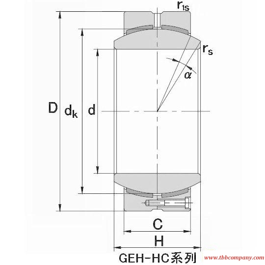 GEH400HC Plain bearing