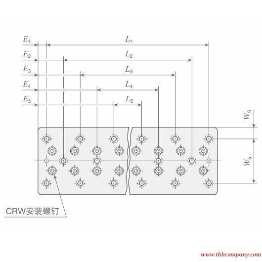 CRWU 100-260 Crossed Roller Way Unit Linear guide