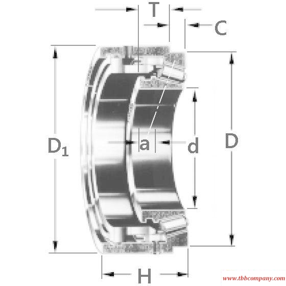 JP20049P-JP20019HR Tapered roller bearing