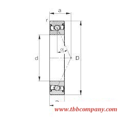 HCS7001-E-T-P4S Spindle Bearing