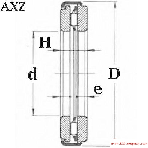 ARZ10 25 43 Axial thrust bearing