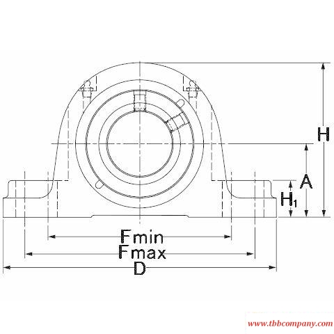 QAPL09A040S Mounted spherical roller bearing