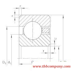 CSCD055 Thin section bearing
