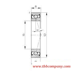 HSS71907-C-T-P4S Spindle Bearing