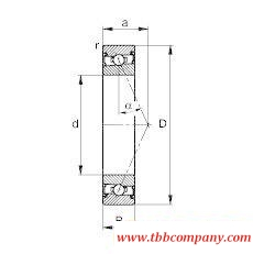 HSS71907-E-T-P4S Spindle Bearing