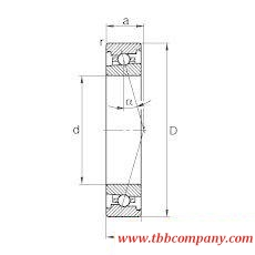 HS71908-C-T-P4S Spindle Bearing