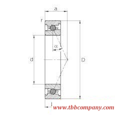 HC71908-E-T-P4S Spindle Bearing