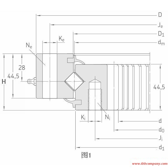 RKS.162.14.0844 Slewing bearing