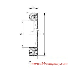 HCS71908-C-T-P4S Spindle Bearing
