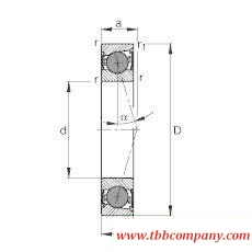 HCB71908-C-2RSD-T-P4S Spindle Bearing