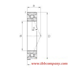 HS71909-E-T-P4S Spindle Bearing