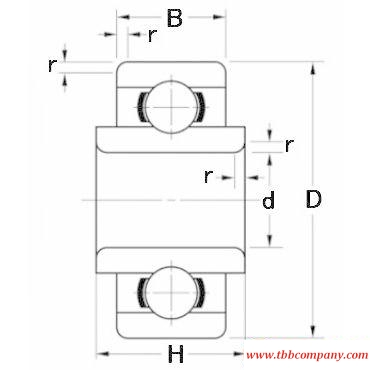 RW1810 Deep groove ball bearing
