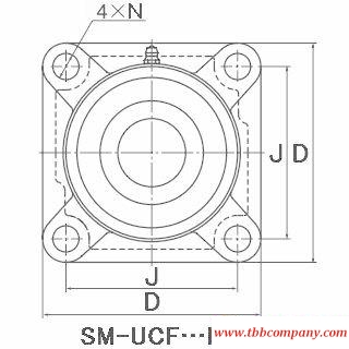 SM-UCF210-115D1 Inch size bearing units