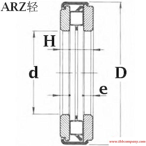 ARZ11 35 54 Axial thrust bearing