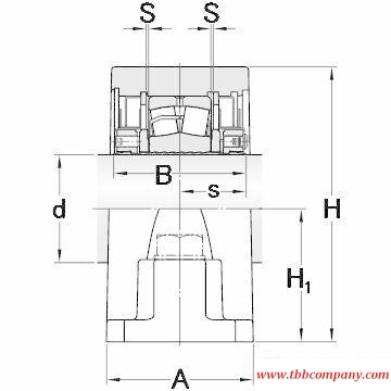 SYR 2 N-118 Inch size rolling bearing units