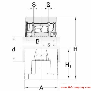 SYR 1 11/16 N Inch size rolling bearing units