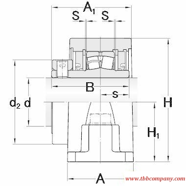 SYR 2 3/16-3 Inch size rolling bearing units