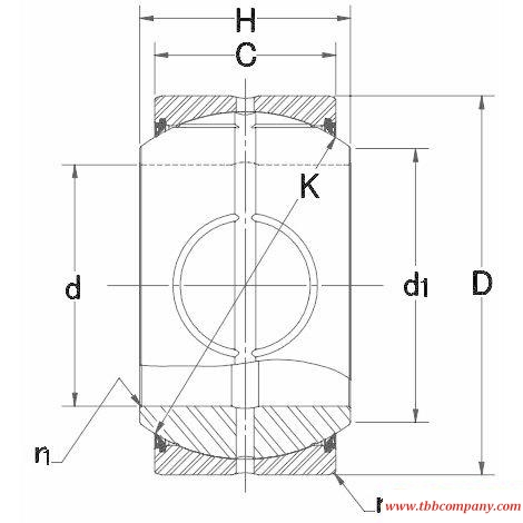 MB25-SSQ Plain bearing