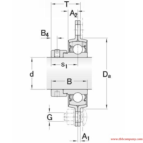 PFD 25 FM Triangle flange bearing units