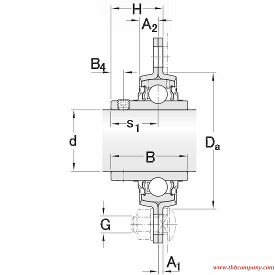 PFD 25 TR Triangle flange bearing units