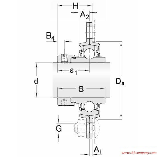 PFD 25 WF Triangle flange bearing units