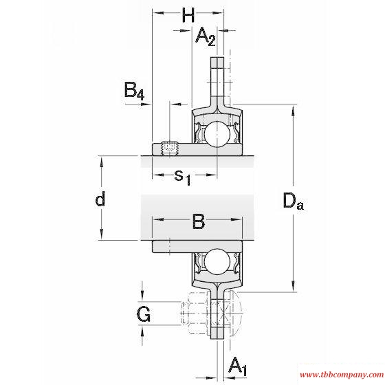 PFD 30 RM Triangle flange bearing units
