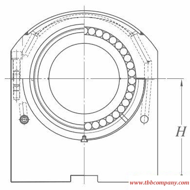 PBA378H Conticaster bearing and assemblies